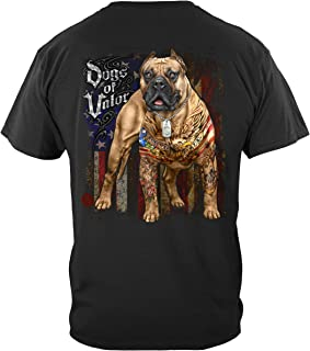 US Army | Dogs of Valor Pit Bull T Shirt MM2341