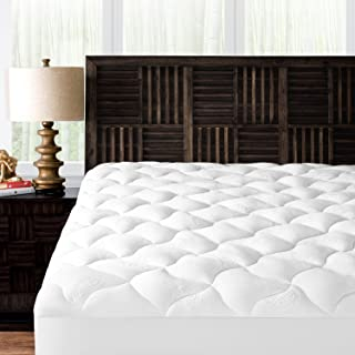 Mandarin Home Collection Ultra Soft Rayon Derived from Bamboo Plush Mattress Topper - Premium Hypoallergenic Mattress