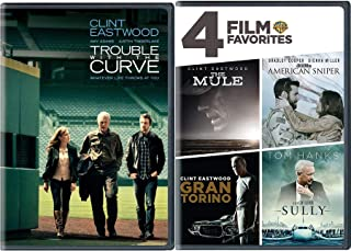 The Power Story 5 Film Collection American Cooper Sniper + Sully Tom Hanks + Clint Eastwood Drug Mule + Gran Torino & Trou...