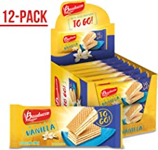 Bauducco Mini Wafer Cookies, Vanilla Wafers, Ideal Dessert, Snack, Pastry, School Lunches, Family Gathering, Party Snack, ...