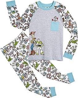 Disney Pijamas para Niños De Toy Story 4! | Ropa Suave Y Cómoda para Dormir De Niño Y Niña | Pijamas De Manga Larga Pixar ...