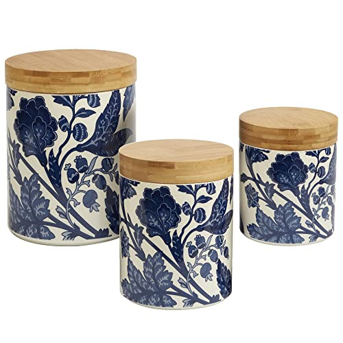 Kitchen Canisters Blue: Amazon.com
