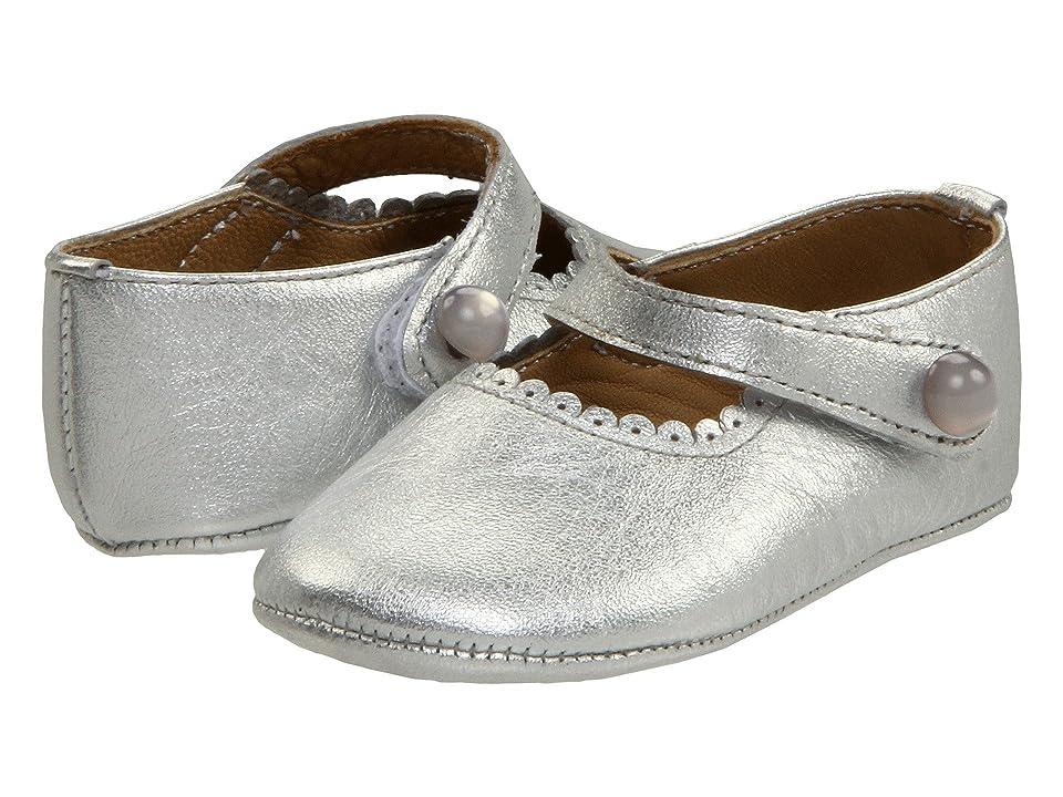 Elephantito Mary Jane Baby (Infant) (Silver) Girl