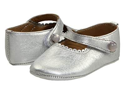 Elephantito Mary Jane Baby (Infant) (Silver) Girl