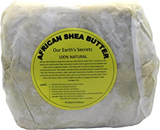 Ivory Raw Unrefined Shea Butter Top Grade, 2 Pound - Our Earth's Secrets