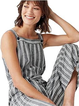 Grey/White Stripe