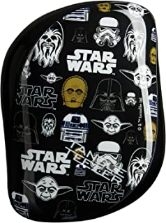 Tangle Teezer Disney Star Wars Compact Styler Hairbrush, Multi-Character
