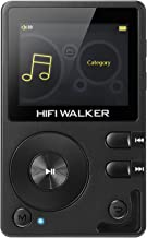 HIFI WALKER H2 High Resolution Lossless MP3 Bluetooth FLAC WAV Digital Audio Player Portable with 16GB microsd Card and HD Audio Earphone