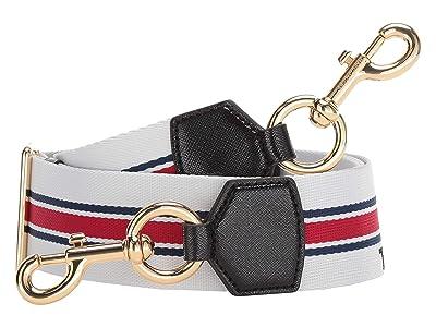 Marc Jacobs Sport Stripe Webbing Strap (Coconut Multi) Bags