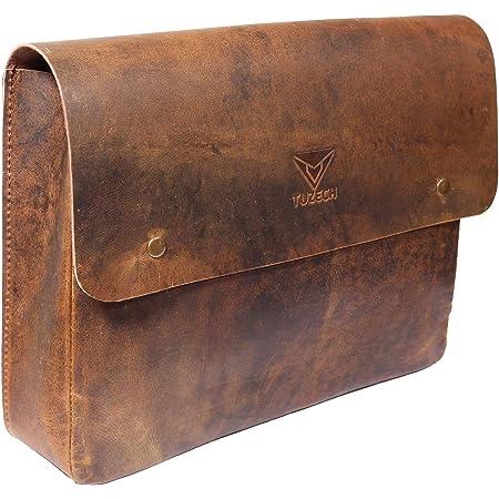 Vintage Leather Folder Document Holder File Case,Document Portfolio Office & Work Essentials Handmade Brown color new (12.5 Inches)