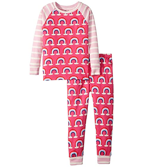 a0c37bd91 Hatley Kids Pretty Rainbows Organic Cotton Pajama Set (Toddler ...