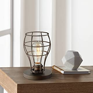 Oldham Industrial Modern Uplight Desk Table Lamp 9 1/2