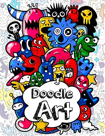 Doodles Art Funny Super Cute Adult And Children Coloring Books Relax On An Activity Adorable High