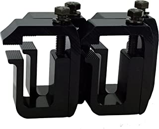 GCi STRONGER BY DESIGN G-1 Clamp for Truck Cap/Camper Shell Black Powder Coated (Set of 4)