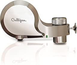 Culligan FM-100-C Faucet Mount Water Filter with Life Indicator, Chrome Finish