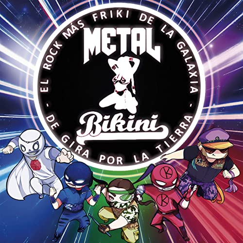 Tortugas Ninja (Bonus Track) by Metal Bikini on Amazon Music ...