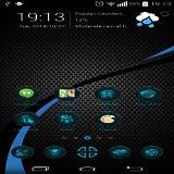 Blue Carbon HD Theme