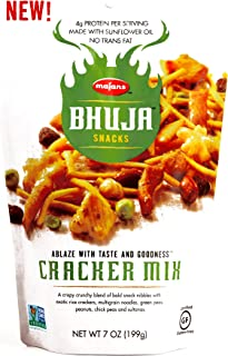 Bhuja Snacks Cracker Mix 7 oz each (1 Item Per Order)