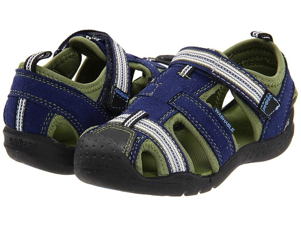 pediped Sahara Flex (Toddler/Little Kid) (Blue) Boys Shoes