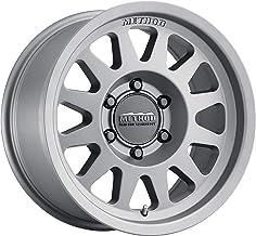 0mm Offset 4.75 Backspace Method Race Wheels 316 Matte Black 17x8.5 5x5 MR31678550500