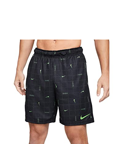 Nike Dry Shorts All Over Print SP (Black/Mean Green/Mean Green) Men