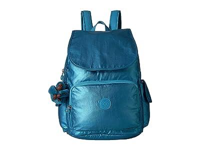 Kipling Citypack Backpack (Turkish Tile Metallic) Backpack Bags
