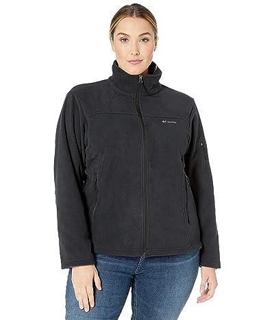Columbia Plus Size Fast Trektm II Jacket (Black) Women