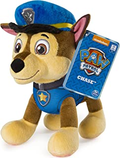 Paw Patrol - 8? Chase Plush Toy, Standing Plush with Stitched Detailing, for Ages 3 and up
