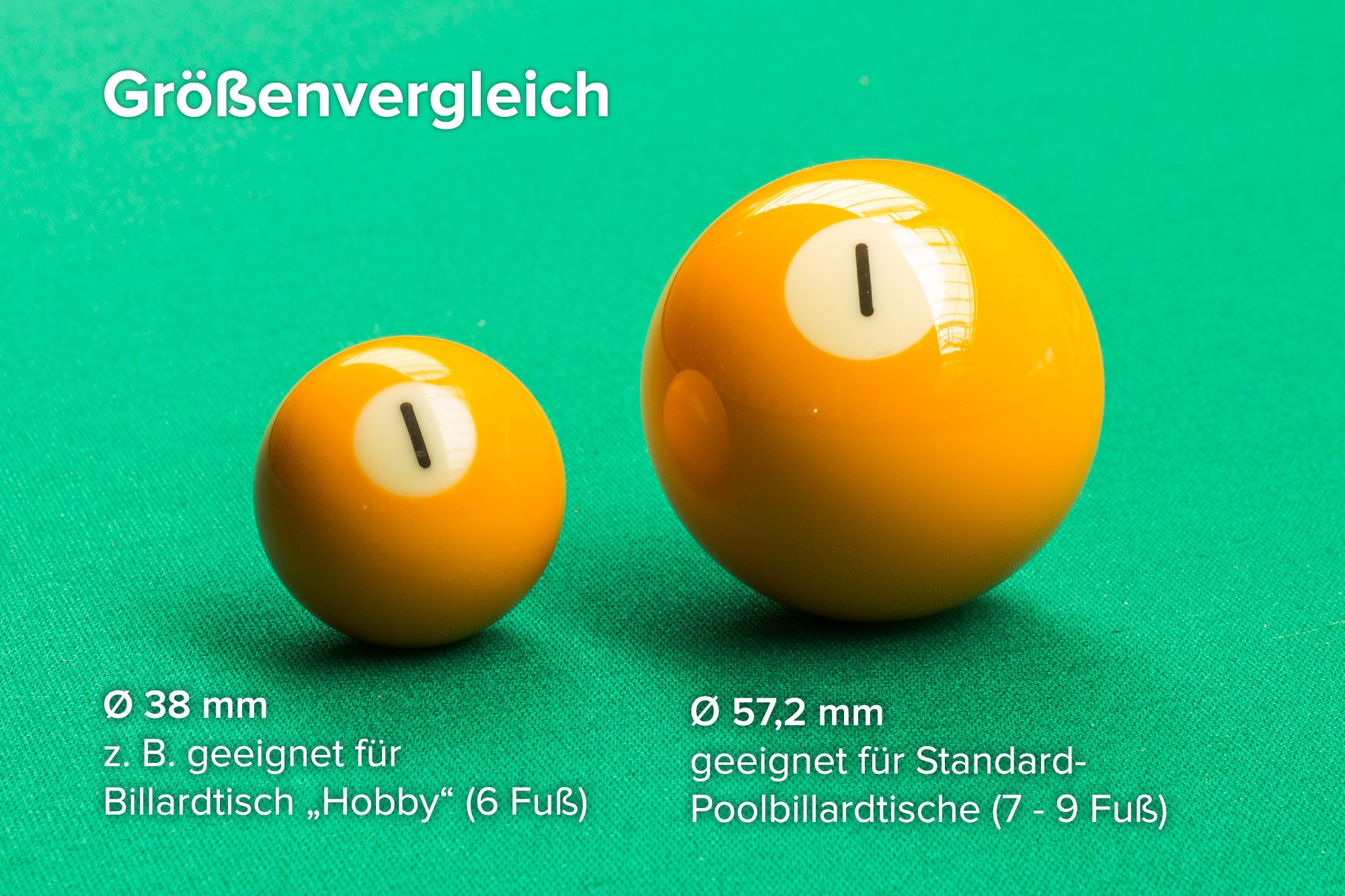 Bolas de billar Classic de primera calidad, 38 mm: Amazon.es: Deportes y aire libre