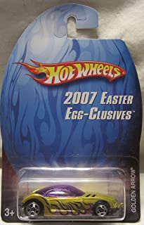 Hot Wheels 2007 Easter Egg-Clusives Golden Arrow Die Cast Car!