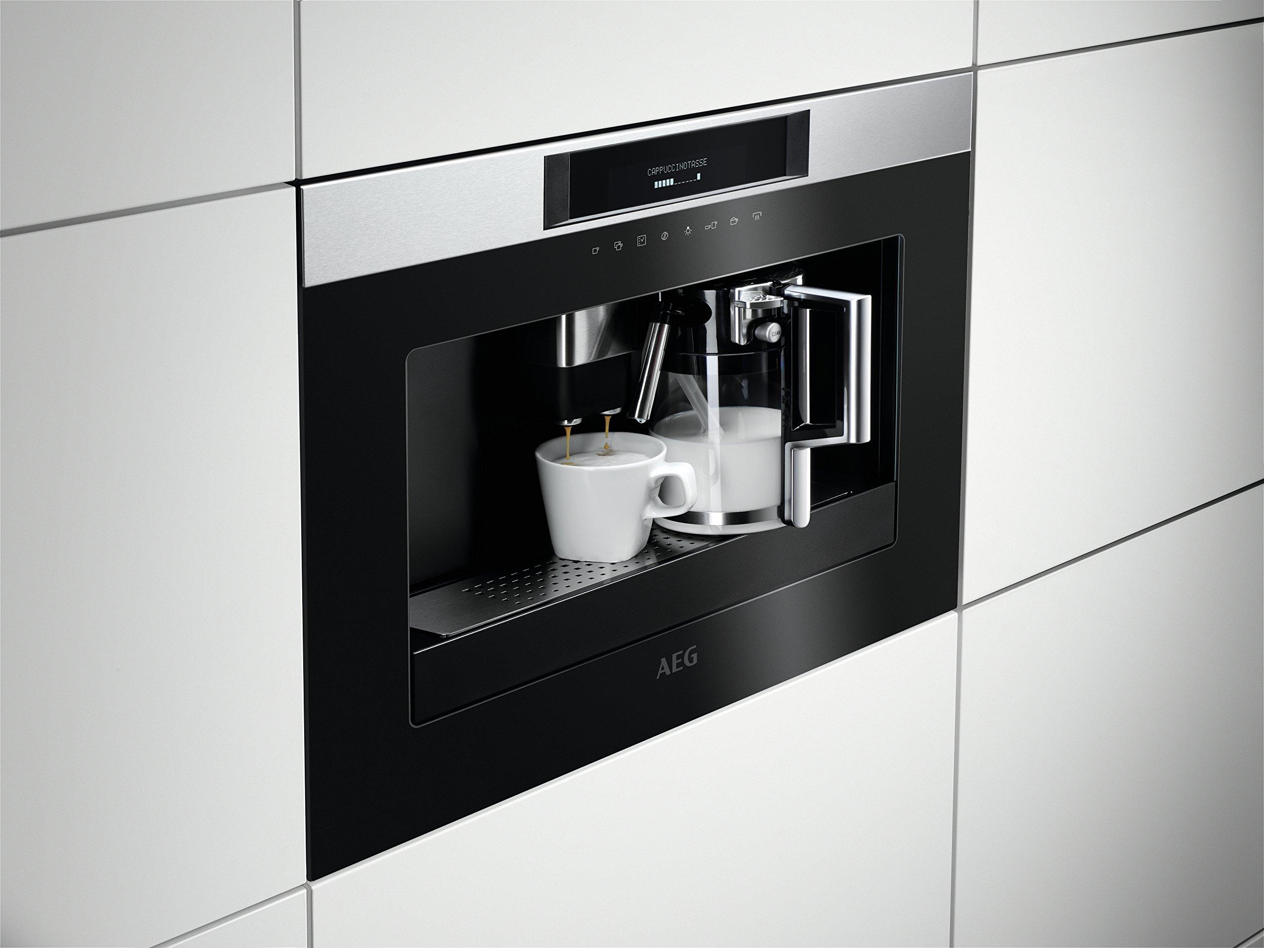 AEG KKK884500M Integrado Totalmente automática Máquina espresso ...