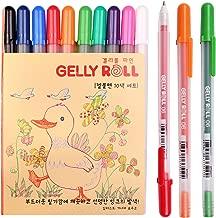 Sakura Pgb10c56 10-piece Gelly Roll Blister Card Gel Ink Pen Set, Fine Point 0.6mm, Assorted Colors