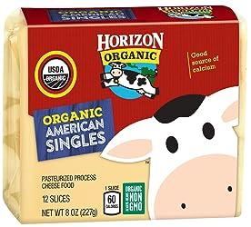 Horizon Organic Sliced Cheese American, 8 oz