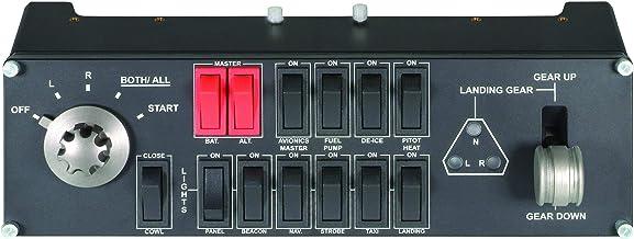 Logitech 945-000030 - G Saitek Pro Flight Switch Panel (Black) - Renewed