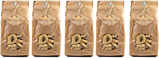 Vigne Vecchie Tarallini with Potatoes and Rosemary, 8.8 oz. (5 pack), Fresh Baked Breadsticks [Imported from Italy] - 453