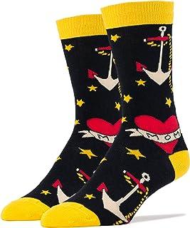 Oooh Yeah Socks ! - Mens Crew - Sailor Ink