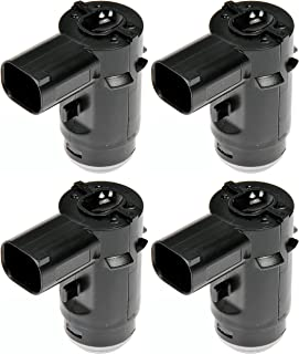APDTY 135122x4 Parking Assist Reverse Proximity System Distance Control Sensor Set Of 4 Fits 2009-2014 Ford F150 Pickup 2009-2014 Lincoln LT (Replaces 9L3Z-15K859-C, 9L3Z-15K859-D)