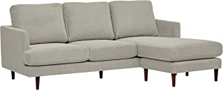 Rivet Goodwin Modern Sectional Sofa, 88.6