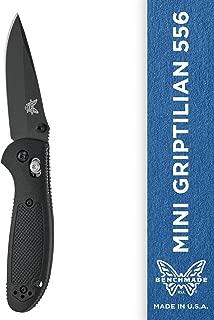 Benchmade - Mini Griptilian 556 EDC Manual Open Folding Knife Made in USA