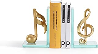 Danya B. Gold Musical Glass Bookends