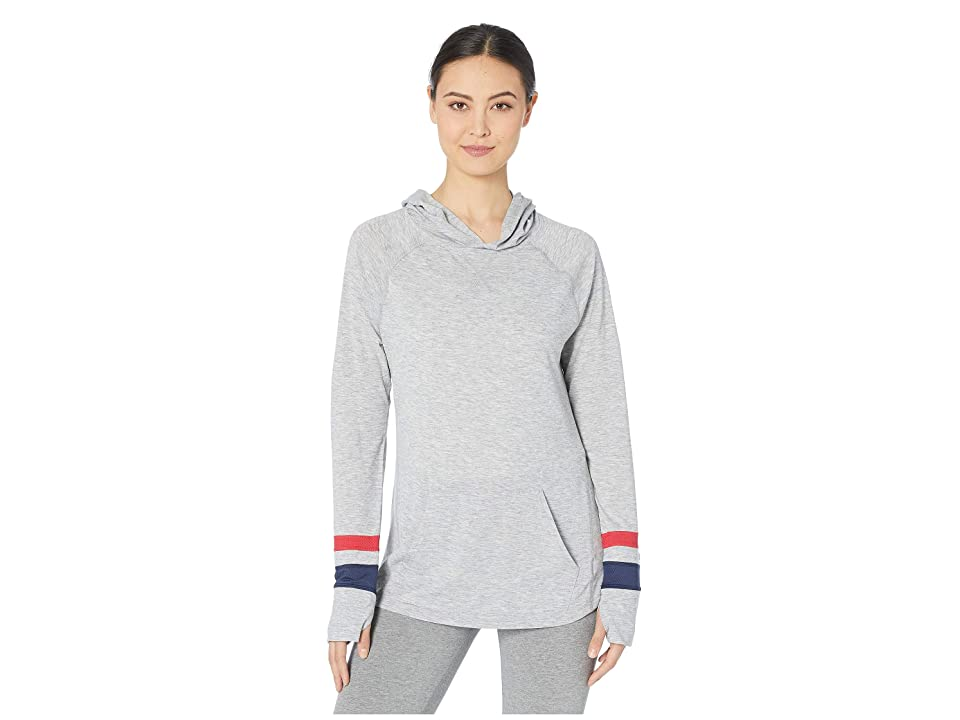 Champion Gym Issue Pullover Hoodie (Oxford Gray) Women