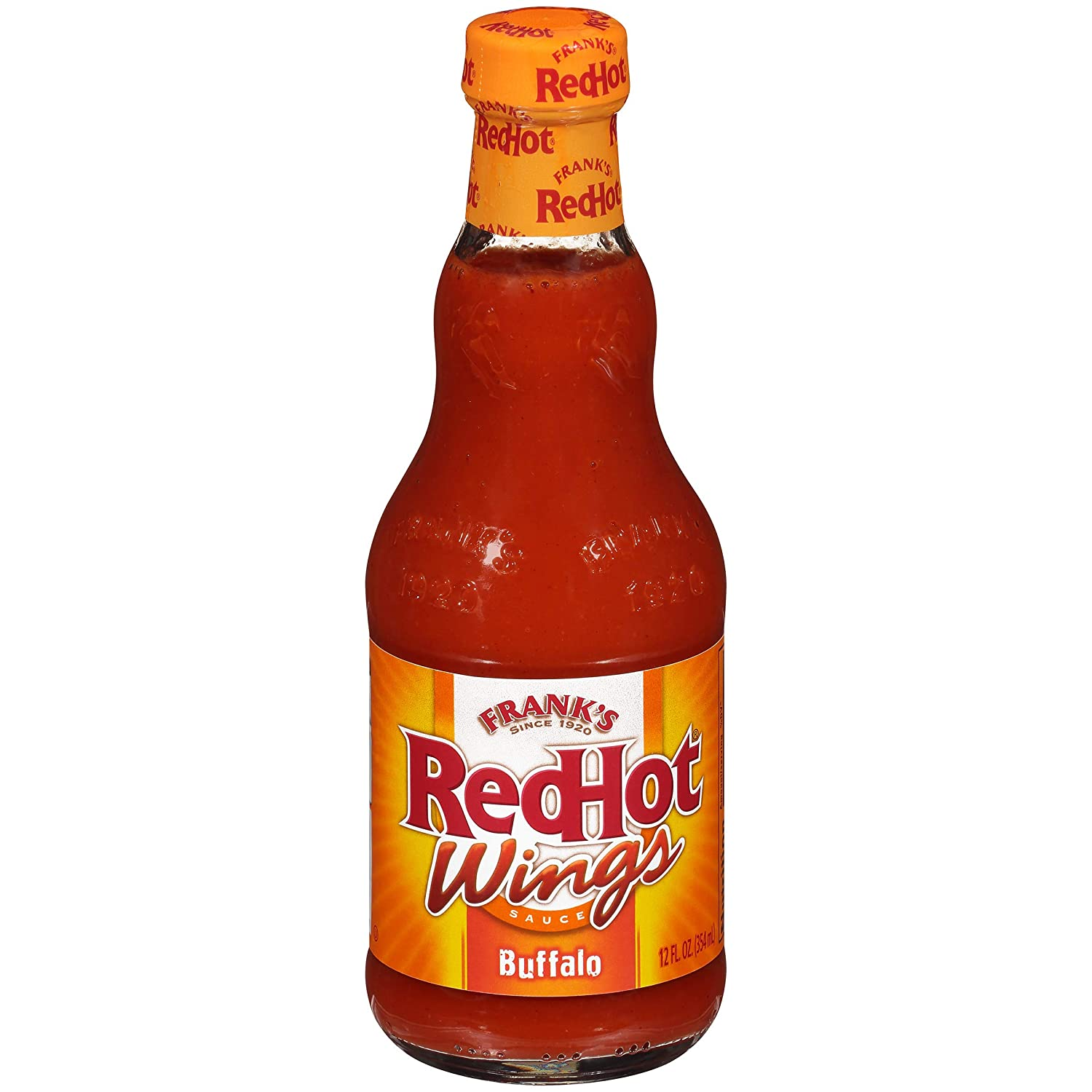 Frank's Max 62% OFF RedHot Buffalo Wings 12 Super special price oz fl Sauce