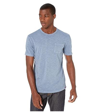 The Normal Brand Vintage Slub Pocket T-Shirt (Light Indigo) Men