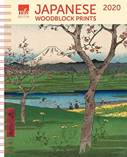 MFA Japanese Woodblocks Weekly Engagement Calendar 2020 Planner 6.5