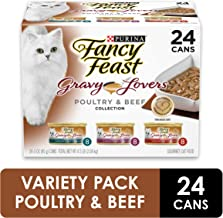 Purina Fancy Feast Gravy Lovers Poultry & Beef Feast...