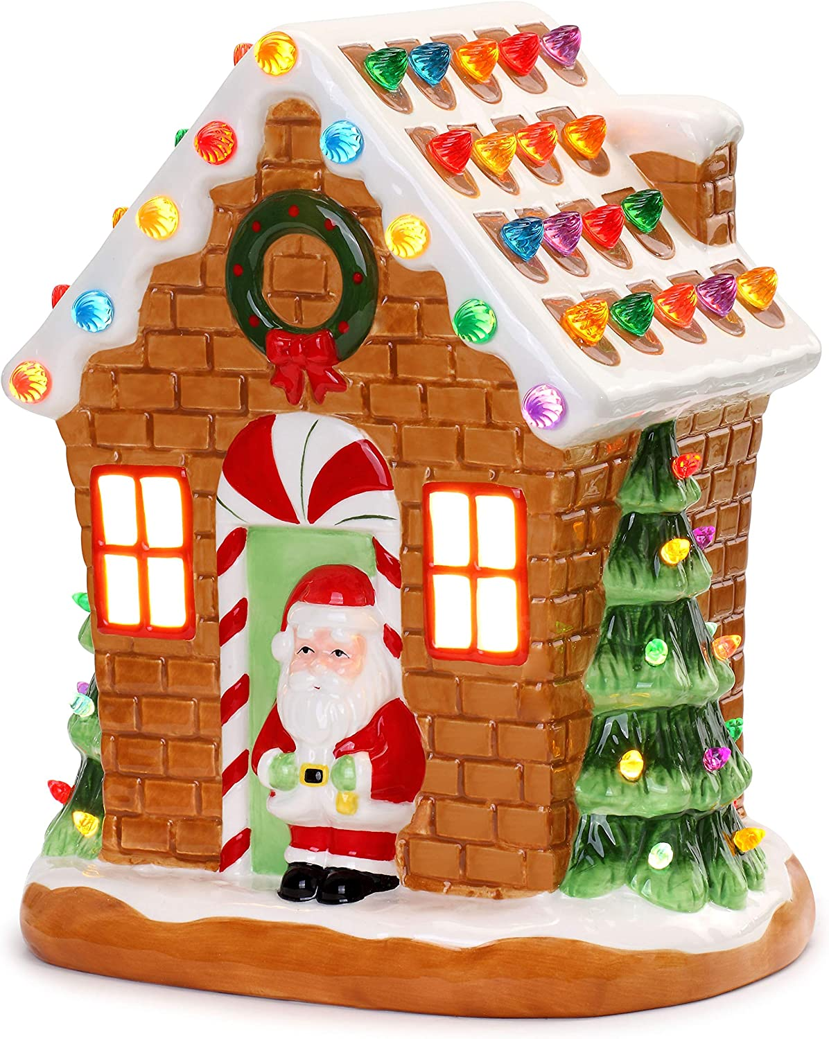 Mr. Ranking Max 69% OFF TOP14 Christmas Nostalgic Gingerbread House 12