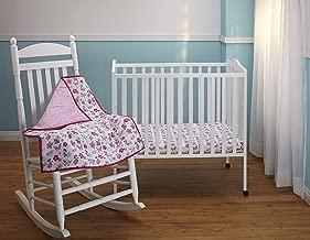 Minnie's Garden 3 Piece Crib Bedding Set