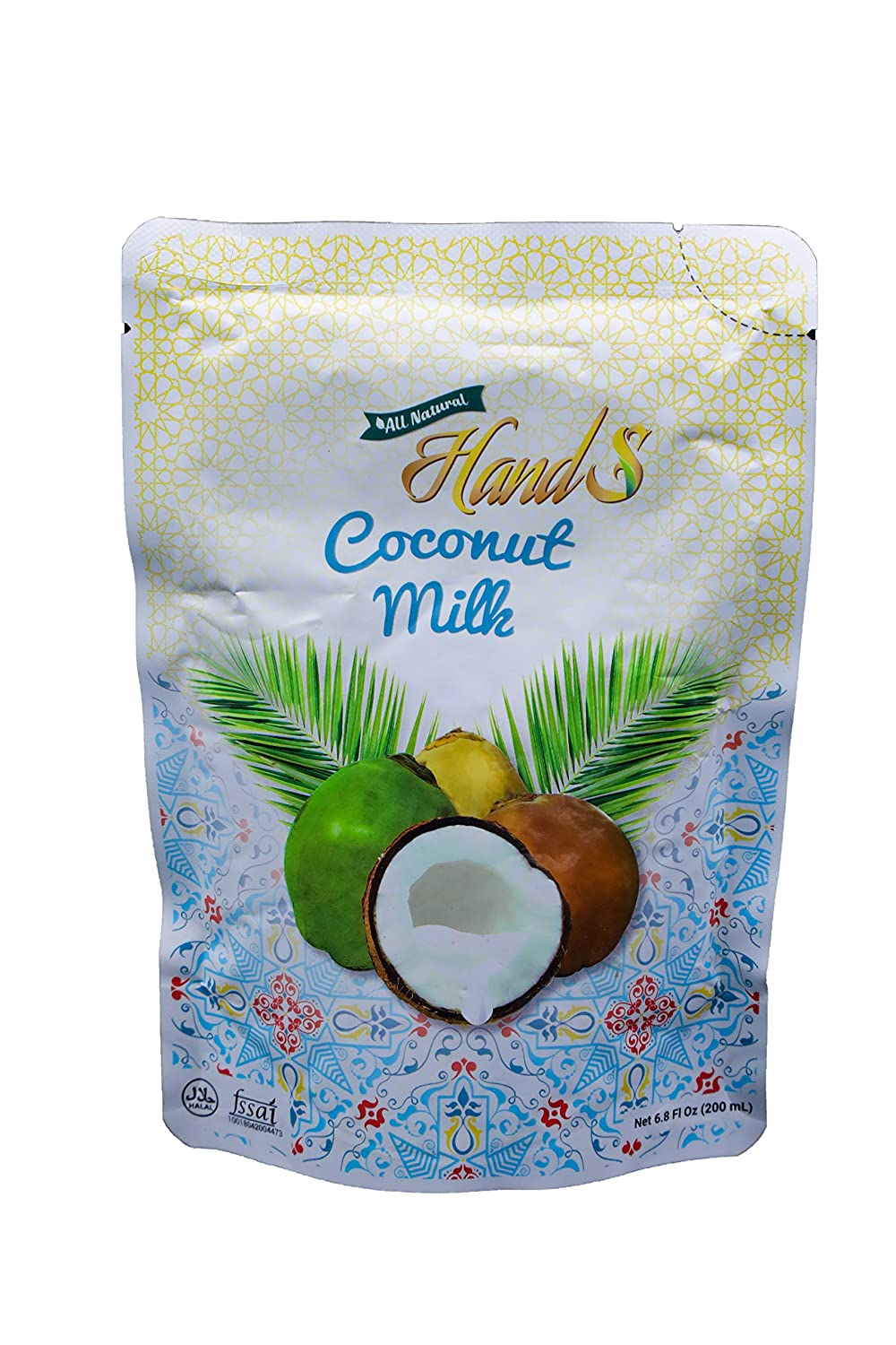 HandS Coconut Milk 18g Free shipping anywhere in the nation Unsweetened 6.8oz - 200ml Award-winning store