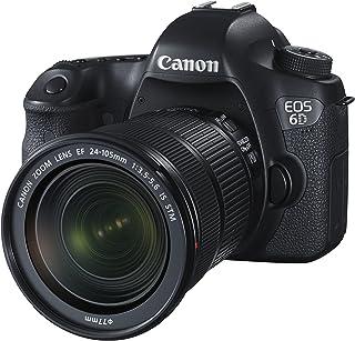 Canon EOS 6D + EF 24-105mm Juego de cámara SLR 202 MP CMOS 5472 x 3648 Pixeles Negro - Cámara Digital (202 MP 5472 x 3648 Pixeles CMOS Full HD 755 g Negro)