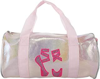 Odin Duffle Bag with Ballet Shoes Embroidery